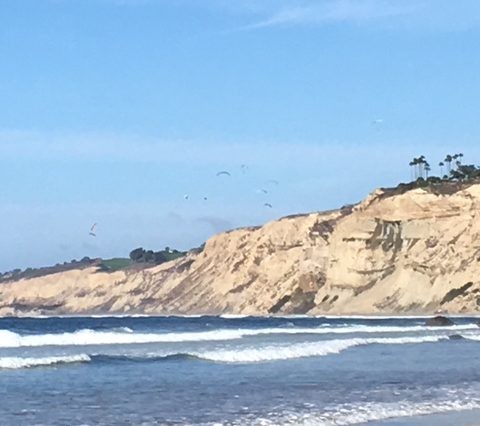 White Cliffs Of San Diego